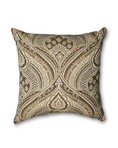 Casual Cushion Throw Pillow in Sultan Medina