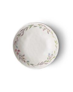 """Merritt 8"""" Bloom and Vine Melamine Salad Bowl"""