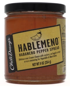 Chili Dawg's Hablemeno Pepper Spread