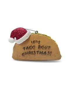 Let's Taco 'Bout Christmas Ornament