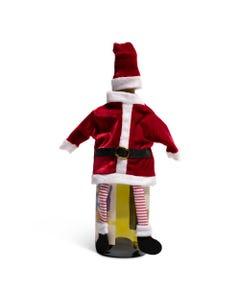 Ganz Santa Wine Bottle Decor