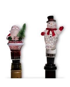 Holiday LED Bottle Stoppers