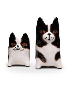 Ceramic Dog Planters