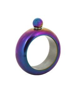 Ganz Irridescent Bracelet Flask
