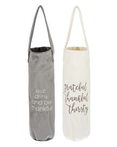 Cozy Fall Wine Gift Bags