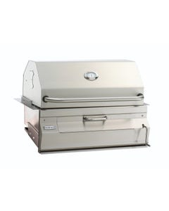 """Fire Magic Built-In Stainless Steel 24"""" Charcoal Grill"""