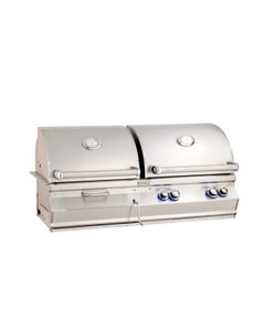 Fire Magic Aurora A830i Built-In Gas and Charcoal Combination Grills