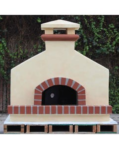 Forno Bravo Toscana Wood Fired Oven, Gabled Enclosure