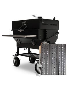 "GrillGrate Set for Yoder Smokers Adjustable 36"" Charcoal Grills"
