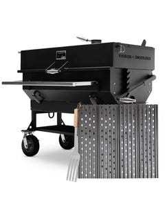"GrillGrate Set for Yoder Smokers Adjustable 48"" Charcoal Grills"