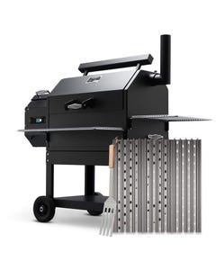 GrillGrate Set for Yoder Smokers YS640 Pellet Grill-GrillGrate Panels with Grate Tool