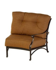 Mayfair Estate Crescent Left Chair with Cushion