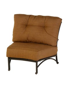 Mayfair Estate Crescent Middle Chair with Cushion