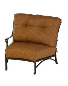 Mayfair Estate Crescent Right Chair with Cushion