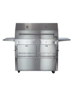 Hasty-Bake Hastings 290C Stainless Steel Cart Model Charcoal Grill