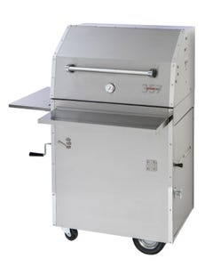 Hasty-Bake 357 PRO Stainless Steel Charcoal Grill