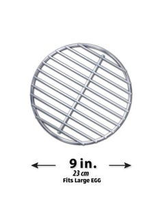High-Que Stainless Steel High-Heat Firegrate Upgrade for Large Big Green Egg