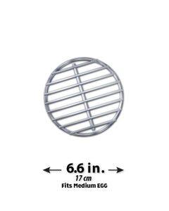 High-Que Stainless Steel High-Heat Firegrate Upgrade for Medium Big Green Egg