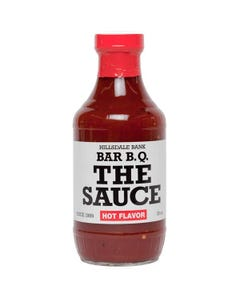 "Hillsdale Bank BBQ ""The Sauce"" Hot BBQ Sauce"