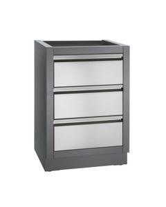Napoleon Oasis Modular Kitchens Three Drawer Cabinet, IM-3DC-CN