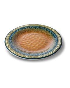 """Merritt 11"""" Coral Sandstone Dinner Plate"""