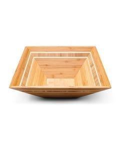 "Totally Bamboo 12"" Square Inlay Bowl"