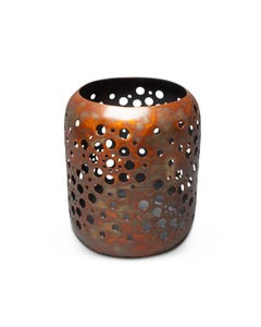 Jatex Perforated Candle Holder
