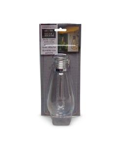 Everlasting Glow LED Solar Light Bulb, Edison Bubble Tube
