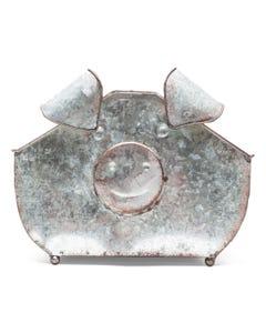 Kalalou Galvanized Pig Trug