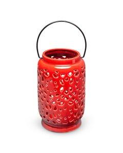 Surya Ceramic Lantern, Medium