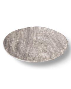 """Merritt 8"""" Heartwood Melamine Salad Plate"""