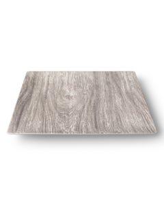 """Merritt 10.5"""" Heartwood Square Melamine Dinner Plate"""