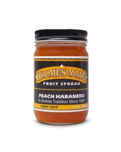 Holmes Made Peach Habanero Jam
