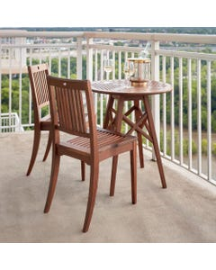 Jensen Leisure Opal 3-Piece Bistro Dining Set