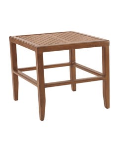 """Transitional 20"""" Square Side Table"""