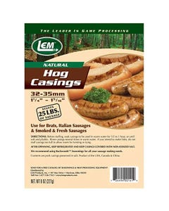 LEM Products Natural Hog Casing 8oz Bag
