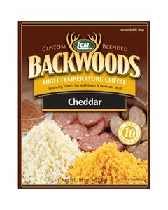 LEM Products Backwoods High-Temperature Cheddar Cheese