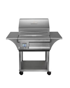 Memphis Wood Fire Grills Memphis Advantage Pellet Grill on Cart, 430 Stainless Steel