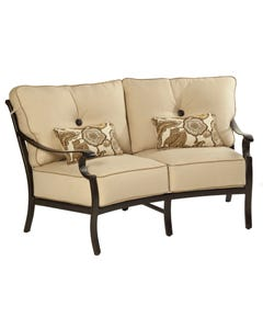 Monterey Crescent Loveseat