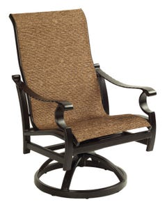 Monterey Sling Swivel Rocker