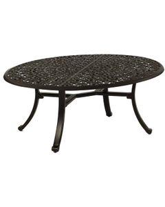 Vintage 32X48 Elliptical Coffee Table