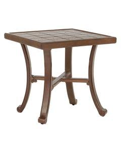 "Vintage 20"" Square Side Table"