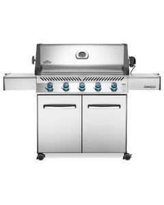 Napoleon Grills Prestige 665 Gas Grill on Cart, Stainless Steel