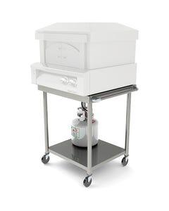 "Alfresco Grills 30"" Pizza Oven Cart"