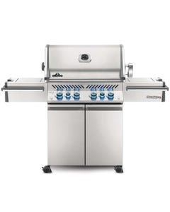 Napoleon Grills Prestige PRO 500 Gas Grill with Infrared Side and Rear Burners, Stainless Steel