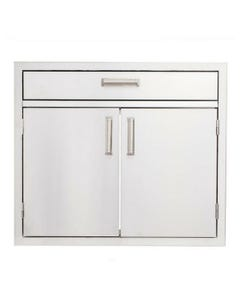 """Quivira 30x19 Double Door Cabinet with 4"""" Utility Drawer"""
