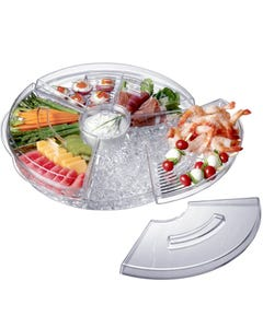 Prodyne AB-5-L Appetizers-On-Ice with Lids