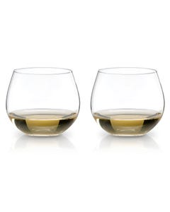 """Riedel """"O"""" Oaked Chardonnay Wine Glasses - Set of 2"""