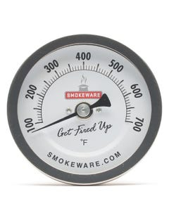 "SmokeWare 3"" Easy Read Thermometer"