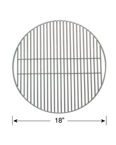 "Smokeware 18"" Stainless Steel Replacement Grate for Large Big Green Egg"